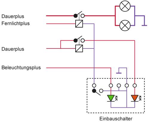 Pinbelegung Lichtschalter (Mittelkonsole) - Viermalvier.de, das ...